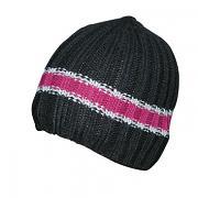 Pletená čepice s pruhy 2-14let
