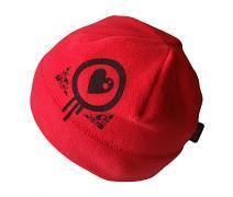 Jednobarevná fleece čepice pro dívky 6 měs. - 5let