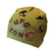 Čepice UFO pro kluky dvojitá 3,4