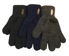 Dětské prstové rukavice tmavé 5-8let
