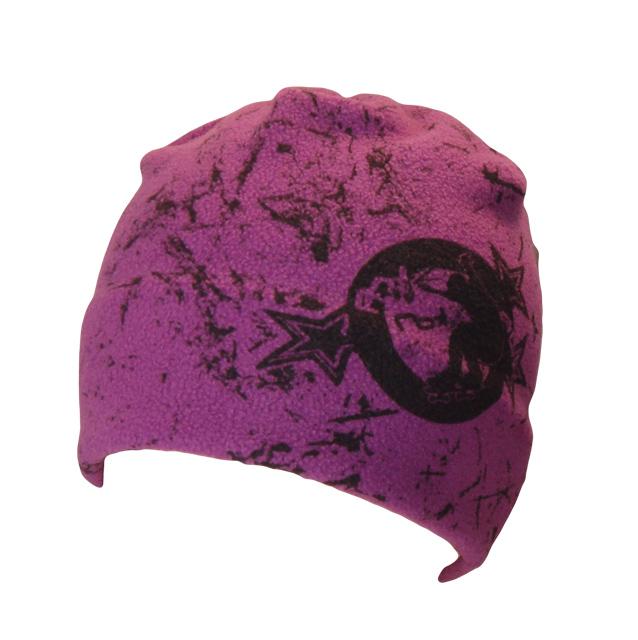 Skate fleecová čepice prskaný tisk 3 9c7c281988
