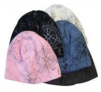Pletená zimní čepice Kompas