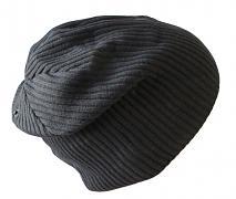 Pletená zimní čepice chlapecká 54-58