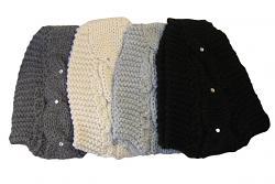 Čelenka dámská pletená