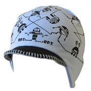 Čepice na uši s kšiltem ROBOTI 4,5