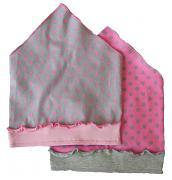 Plátěný šátek puntík