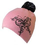 Pletená zimní čepice Motýl 54