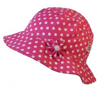 Dívčí klobouk Puntík 52,56