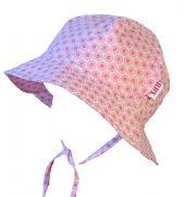 Dívčí klobouček váz. drobná kvítka 44,48