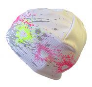 Funkční čepice prskané Srdce 5,6