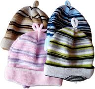 Pruhovaná pletená čepice pro 3měsíce -1rok