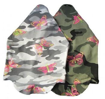 Úpletový šátek maskáč 5