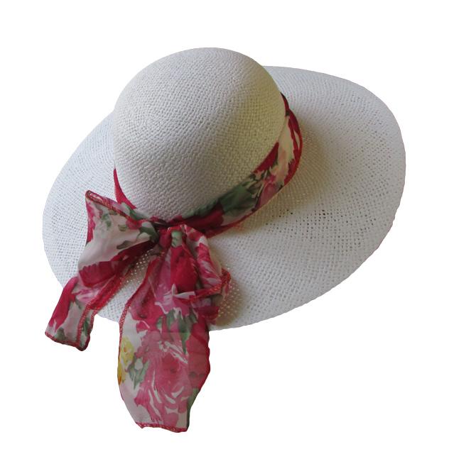 948b712811c Dámský klobouk se stuhou 55