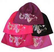 Dívčí čepice tisk Chic 5,6
