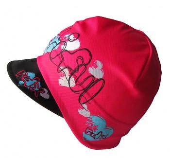 Funkční čepice s kšiltem dívky 5