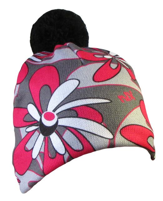 fe099844381 Zimní čepice Velké květy 6 čepicecz.cz - nechte na hlavě