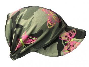 Čelenka s kšiltem Maskáč 50-54